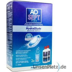 Alcon AOSept Plus mit HydraGlyde Doppelpack