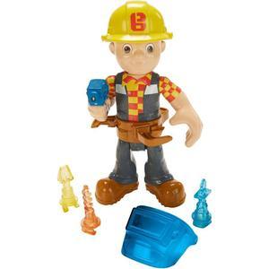 Mattel Bob der Baumeister Figur mit Werkzeug