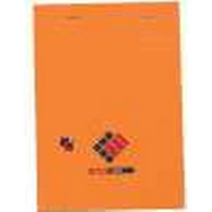 001BLOC Notizblock 001, kariert, Mae: (B)105 x (H)148 mm