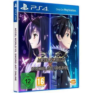 Bandai Namco Accel World vs. Sword Art Online, 1 PS4-Blu-Ray-Disc