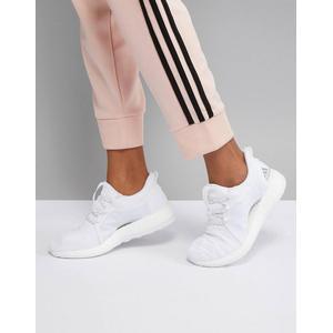 adidas - PureBOOST X - Vollständig in Weiß gehaltene Sneaker - Weiß