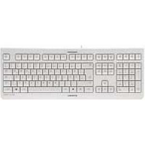 CHERRY KC 1000 USB Schweiz Grau - Tastaturen (Standard, Verkabelt, USB, Grau)
