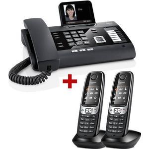 4.70 3er Pack: Gigaset DL500A + 2 Mobilteile C620H