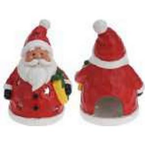 """- Kerzenhalter """"Weihnachtsmann"""" in Rot - (H)46 cm   Größe onesize"""