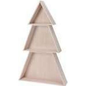 """- Setzkasten """"Weihnachtsbaum"""" in Beige - (H)47 cm   Größe onesize"""