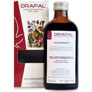 ALLPHARM Vertriebs GmbH Spitzwegerichblätter Bio-Pflanzensaft, 200 ml