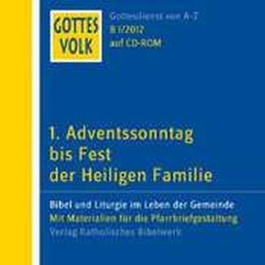 1. Adventssonntag bis Fest der Heiligen Familie, 1 CD-ROM