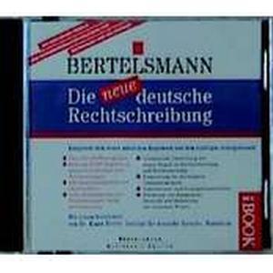 (Bertelsmann) Die neue deutsche Rechtschreibung, 1 CD-ROM in Box