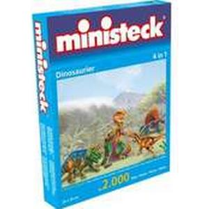 """""""Minist. Dinosaurier 4in1 2.000 Teile"""""""