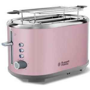 25081-56 Bubble Soft Pink Toaster 930W Brötchenaufsatz (Pink, Edelstahl) (Versandkostenfrei)