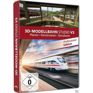 3D-Modellbahn Studio V3 - Professional Edition (PC)