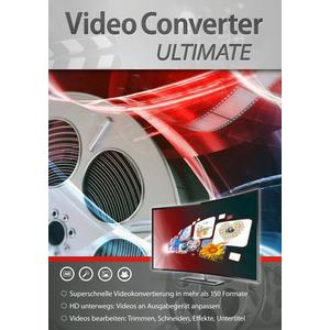 2714 Markt & Technik VideoConverter Ultimate Vollversion, 1 Lizenz Windows Videobearbeitung