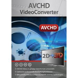 2756 Markt & Technik AVCHD VideoConverter Vollversion, 1 Lizenz Windows Videobearbeitung