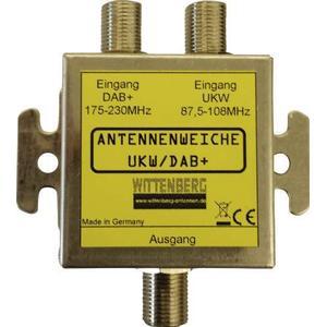 103086 Wittenberg Antennen Antennenweiche UKW, DAB+ Duplexeur d´antenne FM/DAB+