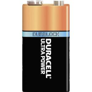 15071711 Duracell Ultra 6LR61 9V Block-Batterie Alkali-Mangan 9V 1St.