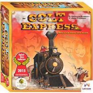 Asmodee Colt Express, Brettspiel
