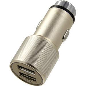 101498 ACE Kfz-Ladegerät mit 2 USB-Anschlüssen und Nothammer Belastbarkeit Strom max.=3.1A Passend für (