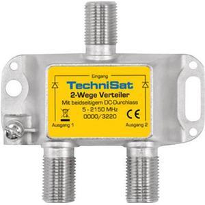 0000/3220 TechniSat SAT-Verteiler 2 Wege Verteiler 2-fach
