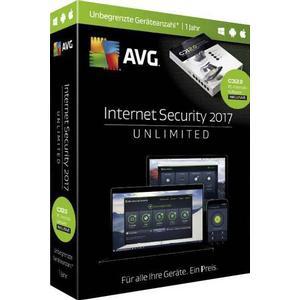 03010 AVG Internet Security 2017 - Sommer Edition Upgrade, unbegrenzte Geräteanzahl Windows, Android, Mac