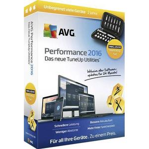 02818 AVG Performance 2016 Sommer Edition Vollversion, unbegrenzte Geräteanzahl Windows, Mac, iOS, Androi
