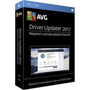 02914 AVG Driver Updater 2017 Vollversion, 1 Lizenz Windows Systemoptimierung