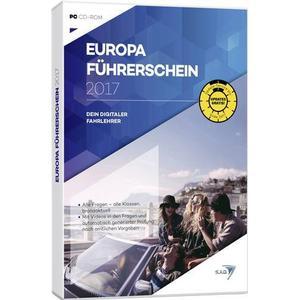 02876 S.A.D. Europa Führerschein 2017 Vollversion, 1 Lizenz Windows Führerschein, Lern-Software