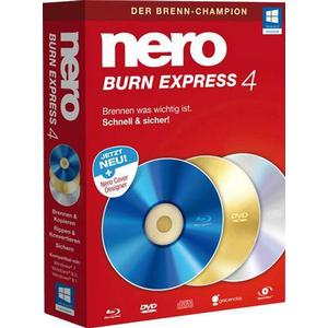 1021284 Nero Burn Express 4 Vollversion, 1 Lizenz Windows Brenn-Software