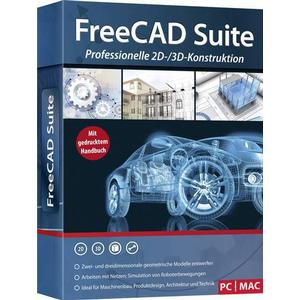 2801 FreeCAD Suite Vollversion, 1 Lizenz Windows, Mac CAD-Software