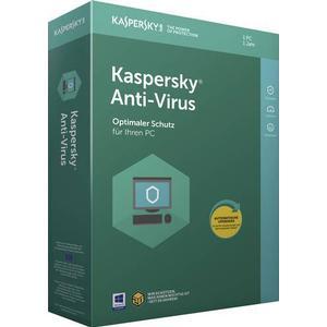 KL1171G5AFS-8 Kaspersky Lab Anti-Virus Vollversion, 1 Lizenz Windows Antivirus