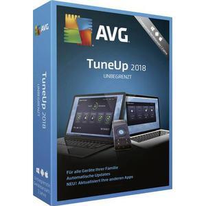 03075 AVG TuneUp Unlimited 2018 Vollversion, unbegrenzte Geräteanzahl Windows, Mac, Android Systemtuning-