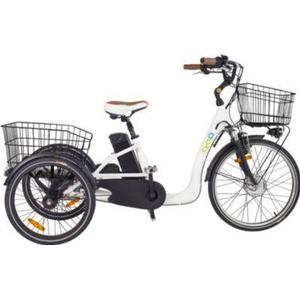24 Zoll Elektro Dreirad 3 Gang Cyclo2... weiß