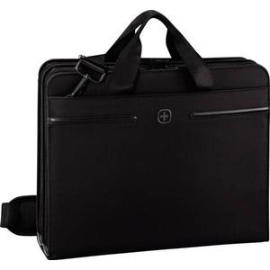 Wenger Directive Schreibmappe A4 mit 14 Laptopfach schwarz
