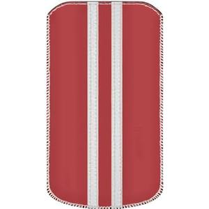 0001558 Katinkas iPhone Tasche Stripe Passend für: iPhone 4, iPhone 4s, Rot, Weiß