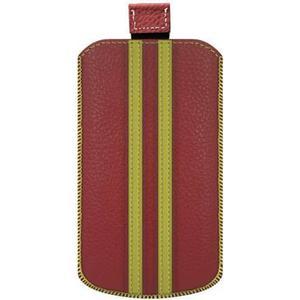 0001556 Katinkas iPhone Tasche Stripe Passend für: iPhone 4, iPhone 4s, Rot, Gelb