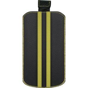 0001554 Katinkas iPhone Tasche Stripe Passend für: iPhone 4, iPhone 4s, Schwarz, Gelb