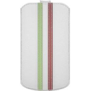 0001557 Katinkas iPhone Tasche Stripe Passend für: iPhone 4, iPhone 4s, Weiß, Grün, Rot