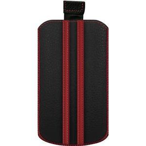 0001555 Katinkas iPhone Tasche Stripe Passend für: iPhone 4, iPhone 4s, Schwarz, Rot