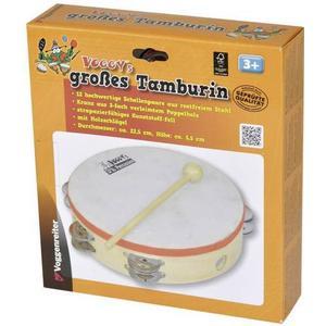 1061 Tambourin Voggy´s großes Tamburin mit Schlägel