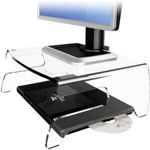 44.660 Dataflex 660 Monitor-Erhöhung Höhen-Bereich: 15cm (max) Transparent