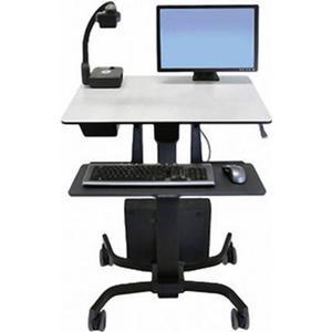 24-220-055 Ergotron TeachWell Mobile Digitale Workspace (MDW) 1fach Monitor-Rollwagen 17,8cm (7 ) - 81,3cm (32