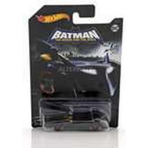 Hot Wheels Batmobile DC Comics The Brave and the Bold schwarz 1:64, Modellfahrzeug