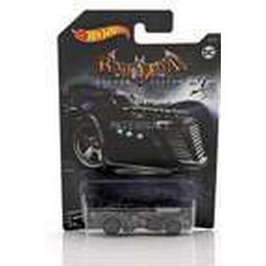 Hot Wheels Batmobile DC Comics Videospiel Arkham Asylum schwarz 1:64, Modellfahrzeug
