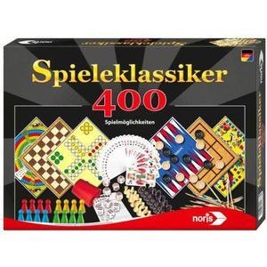 Noris Spiele 606111688 Spieleklassiker mit 400 Spielmöglichkeiten