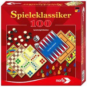 Noris Spiele 606111686 Spieleklassiker mit 100 Spielmöglichkeiten