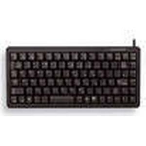CHERRY G84-4100 USB QWERTY Nordischer Raum Schwarz - Tastaturen (Mini, Verkabelt, USB, QWERTY, Schwa