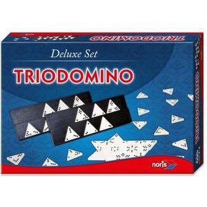 Dickie Noris Spiele 606104603 - Trio Domino, Deluxe Set