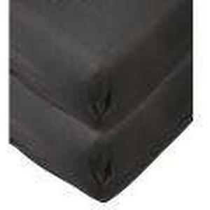 1-2-3.tv 2x AllSeasons Spannlaken schwarz, 100 x 200 cm