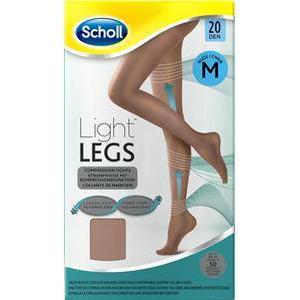 Scholl Bekleidung Strumpfhosen Light Legs 20 Den Nude Strumpfhose mit Kompressionsfunktion Größe L 1 Stk.