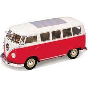 1:24 Modellauto Welly VW T1 Bus 1962 1:24