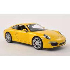 1:24 Modellauto Welly Porsche 911 Carrera S 991 1:24